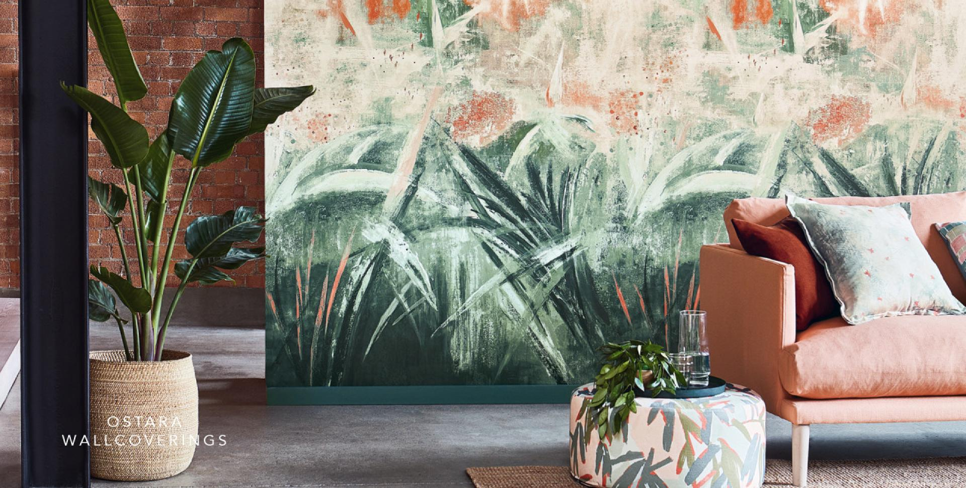 Fashion Wallpaper Panels and Murals The Art For Home Interiors