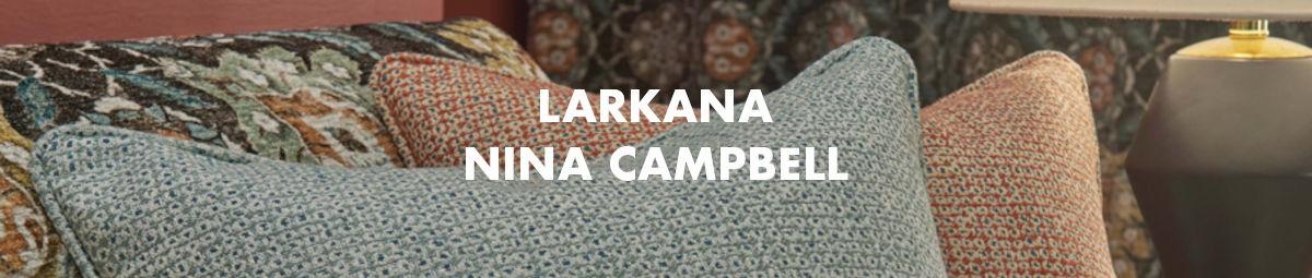 Larkana Fabrics Nina Campbell