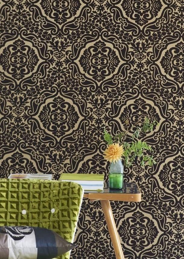 Fioravanti Wallpapers Espresso Designers Guild