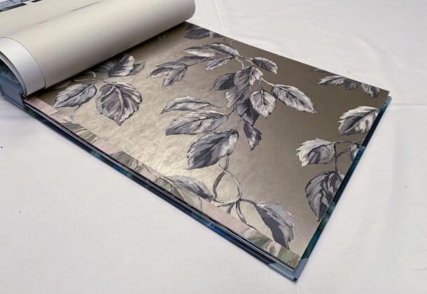 Jangal Zinc Wallpaper Designers Guild PDG1127-06