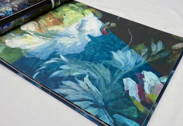 Minakari Cobalt Wallpaper Designers Guild PDG1131-01