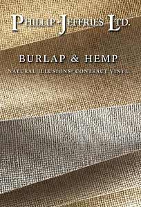Vinyl Burlap & Hemp