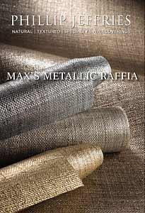 Max's Metallic Raffia