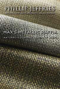 Vinyl Max's Metallic Raffia