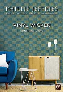 Vinyl Wicker and Vinyl Wicker Checked