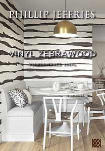 Vinyl Zebrawood