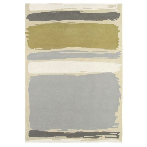 Sanderson Abstract Linden Silver 45401 Rug