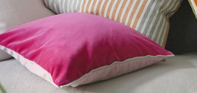 Purple Cushions