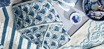 Blue Trimmings